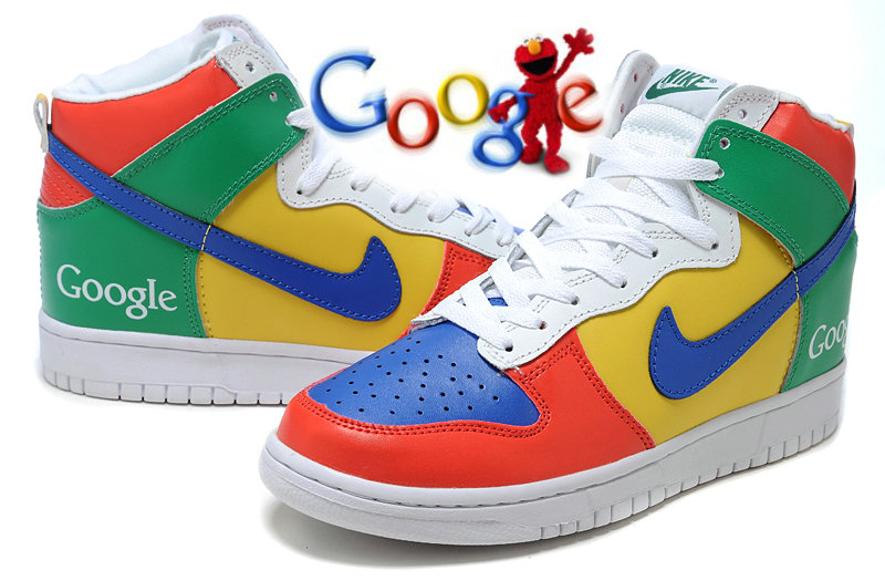 13f22224c469 Nike School Custom Google Dunk High Tops Sneakers - Cx201306 s blog